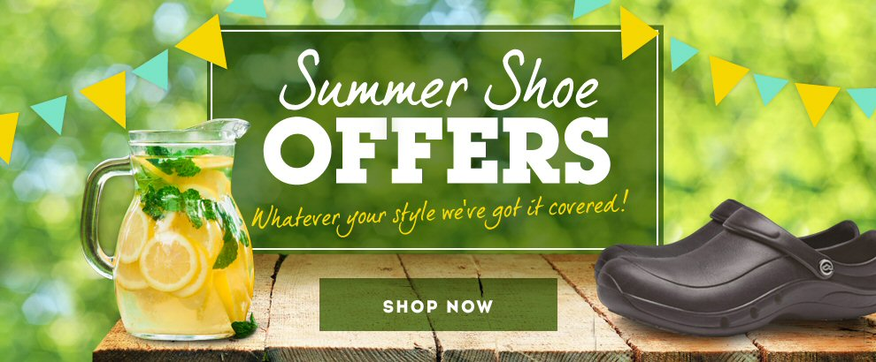 Summer shoe offer
