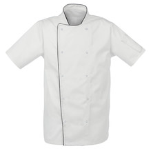 Airback Technical Chefs Jacket With Press Stud Fastening White