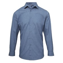 Chambray Shirt Roll Sleeve