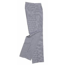 Russum Chefs Trousers Lady's Cotton Blue & White Check