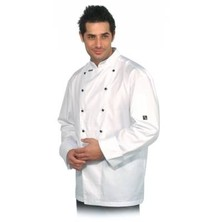 Club Chef Jacket White P/c