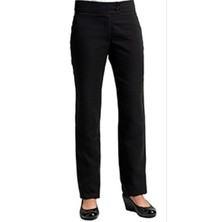 Ladies Black Service Trousers Unfinished
