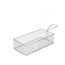 Mini Frying Basket Rectangular Stainless Steel 21.5cm X 10.5cm