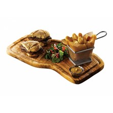 Olive Wood Serving Board 40cm X 21cm