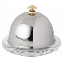 Dome For SG481 Butter Dish S/S 9cm Dia (Box Of 6)