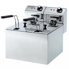 Maestrowave Fryer Double 2 x 3 Ltr