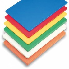 "Chopping Board Set Of 6 High Density Moulded 18"" X 12"" X 0.5"""