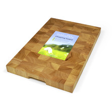 End Grain Wooden Chopping Board 45cm X 30cm X 3.5cm