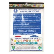 Hygiene Sign Catering Pack Food Storage