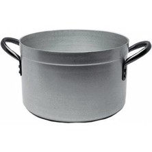 Stewpan Genware Aluminium Medium Duty With Lid 24cm