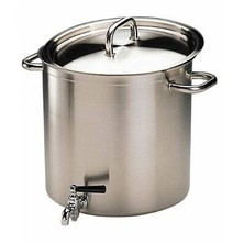 Stockpot With Tap & Lid Bourgeat S/S Excellence 40cm 50 Ltr