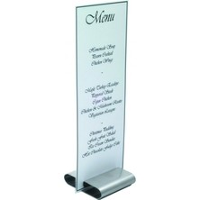 Menu Stand S/S 80mm
