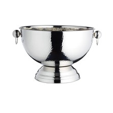 Hammered Stainless Steel Drinks / Champagne Pail