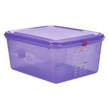 Allergen Storage Container With Lid GN 1/2 150mm 10L