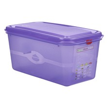 Allergen Storage Container With Lid GN 1/3 150mm 6L