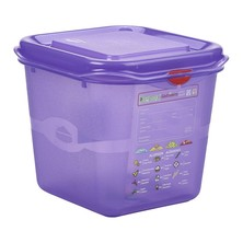 Allergen Storage Container With Lid GN 1/6 150mm 2.6L
