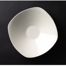 Royal Genware Fine China Rounded Square Bowl 20cm (box Of 6)