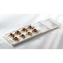 Royal Genware Fine China Narrow Platter 33cm X 17cm (box Of 3)