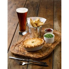 Royal Genware Oval Pie Dish 14cm (box Of 12)