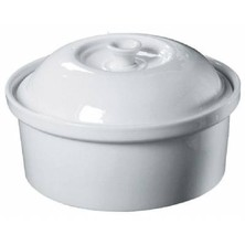 Royal Genware Round Casserole Dish & Lid 1.5ltr (box Of 4)