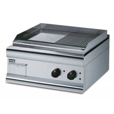 Lincat Gs6/tr Half Ribbed Electric Griddle 330mm (h) X 600mm (w) X 600mm (d) 4kw Dual Zone