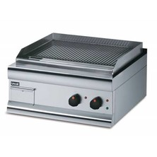 Lincat Gs6/tfr Fully Ribbed Electric Griddle 330mm (h) X 6000mm (w) X 600mm (d) 4kw Dual Zone