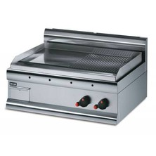 Lincat Gs7/r/p Half Ribbed Propane Gas Griddle 415mm (h) X 750mm (w) X 600mm (d) 7kw