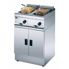 Lincat J12 Free Standing Electric Twin Tank Fryer 2 X 9ltr With 2 Baskets 2 X 6kw