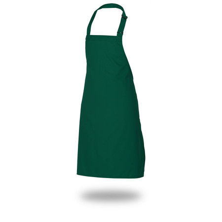 "Bib Apron 28"" X 33"" Poly/Cotton Self Adjustable Neck Band"