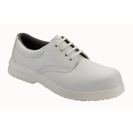 Unisex White Protective Shoe