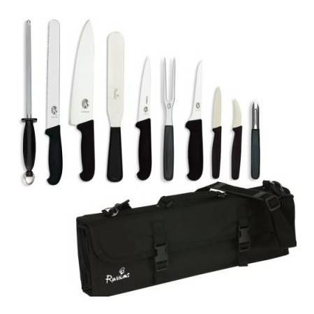 knife set victorinox large with 25cm cooks knife in kc210 case. Black Bedroom Furniture Sets. Home Design Ideas