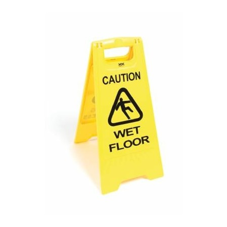 Caution Wet Floor Cleaning In Progress Sign 67cm High