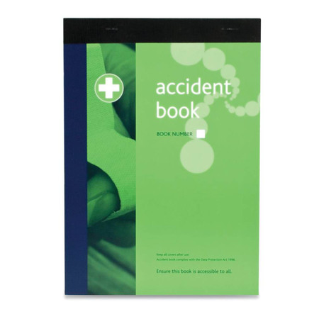 Contents of accident report book