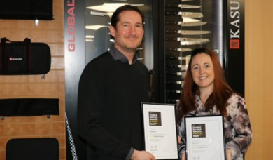 We've been awarded the Feefo Gold Trusted Service Award