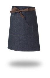 Work Range Denim Waist Apron With 1 Middle Pocket 75cm X 52cm