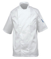 Le Chef DE11 Staycool Jacket Raglan Sleeves With Capped Studs