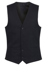 Gents Waistcoat Polyester Black