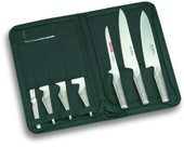 Global Knife Case Containing G2 G3 G21 GS3 GS5 GS11 & GSF15
