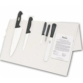Knife Set Giesser Medium With 20cm Cooks Knife In Cotton Wallet