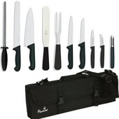 Knife Set Giesser Large With 20cm Cooks Knife In KC210 Case