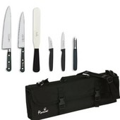 Knife Set Sabatier Medium With 20cm Cooks Knife In KC210 Case