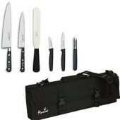 Knife Set Sabatier Medium With 25cm Cooks Knife In KC210 Case