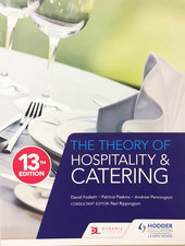 The Theory Of Hospitality & Catering 13th Edition - Foskett & Paskins