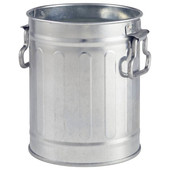 Mini Galvanised Bin 8.5cm X 11.2cm