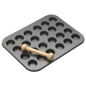 Mini Canape Yorkshire Pudding Tin Non-Stick 24 Hole