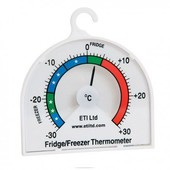 Thermometer Dial Fridge/Freezer 70mm Dial