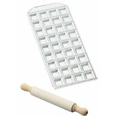 Tray Ravioli 36 Hole With Rolling Pin