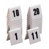 Numbers Table Plastic Set Of 10 11 - 20