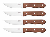 Steak Knives Wood Handle (Box Of 4)