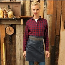 "Waxed Look Waist Apron 27.5"" x 20"""